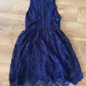 Francesca's Collections Dresses - Navy Blue Francesca Sleeveless Dress Small, NEW